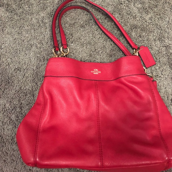 Coach Handbags - Beautiful red handbag